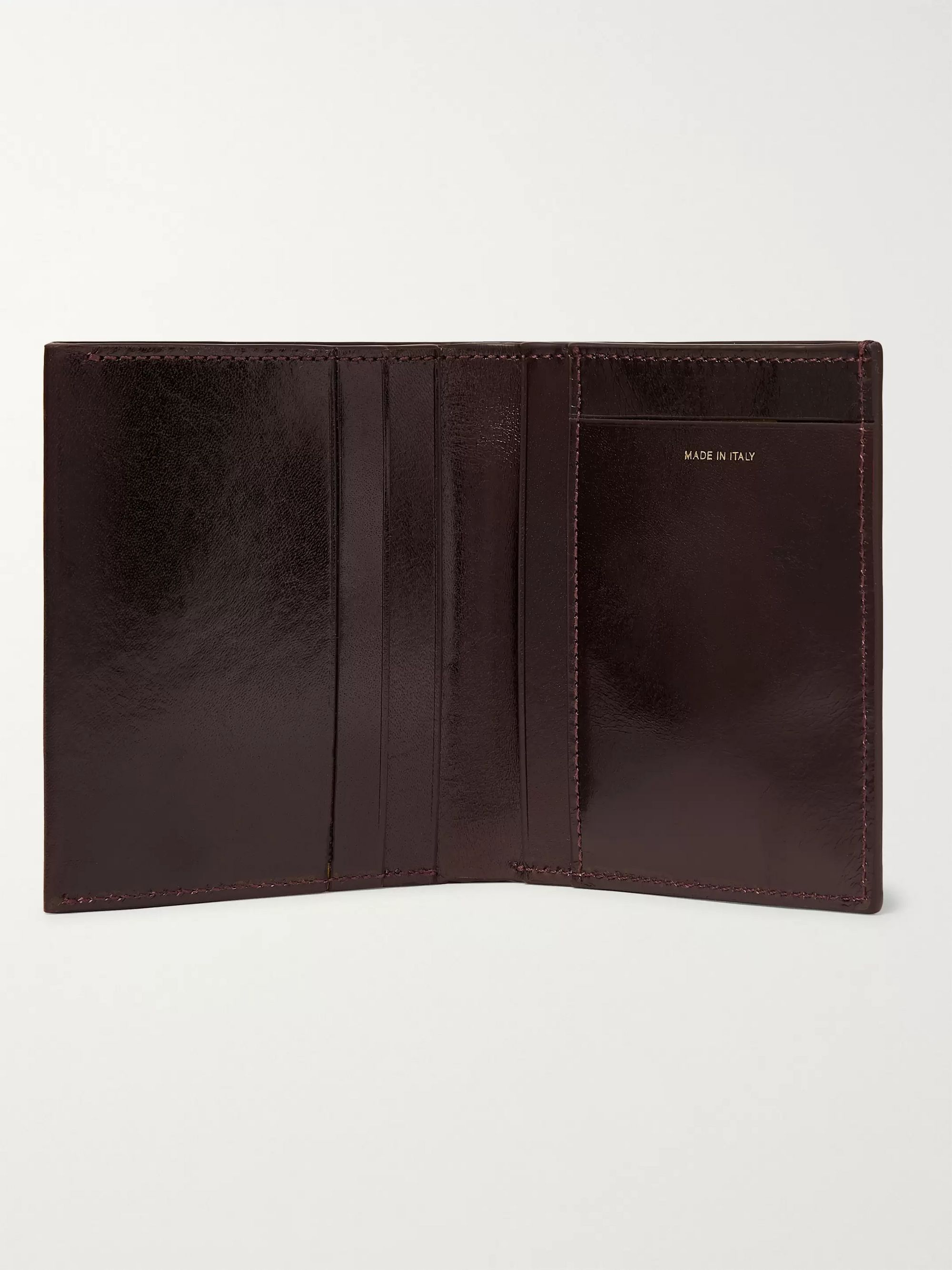 Paul Smith Polished-Leather Billfold Wallet