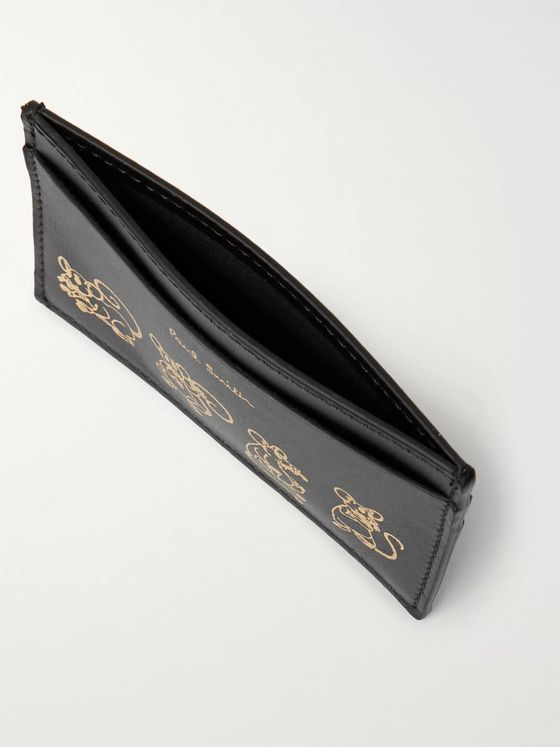 Paul Smith Printed Leather Cardholder