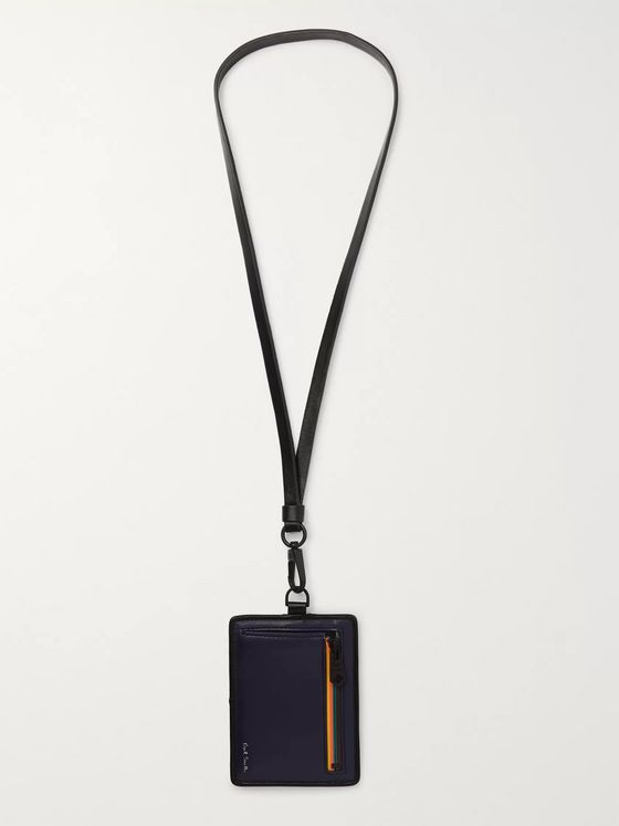 Paul Smith Leather Cardholder with Lanyard