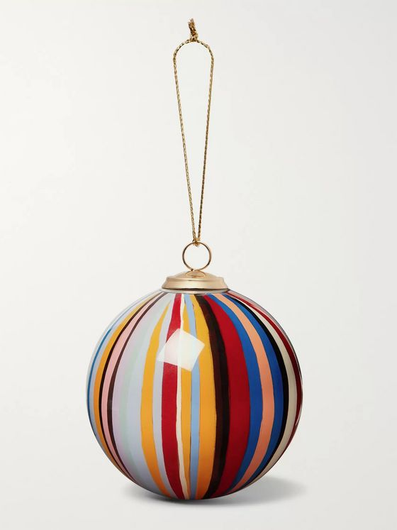 Paul Smith Striped Glass Bauble