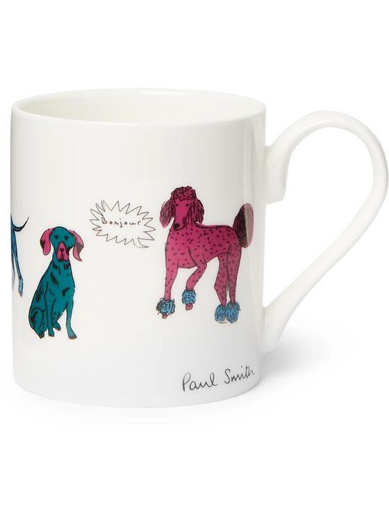 Paul Smith Printed Bone China Mug