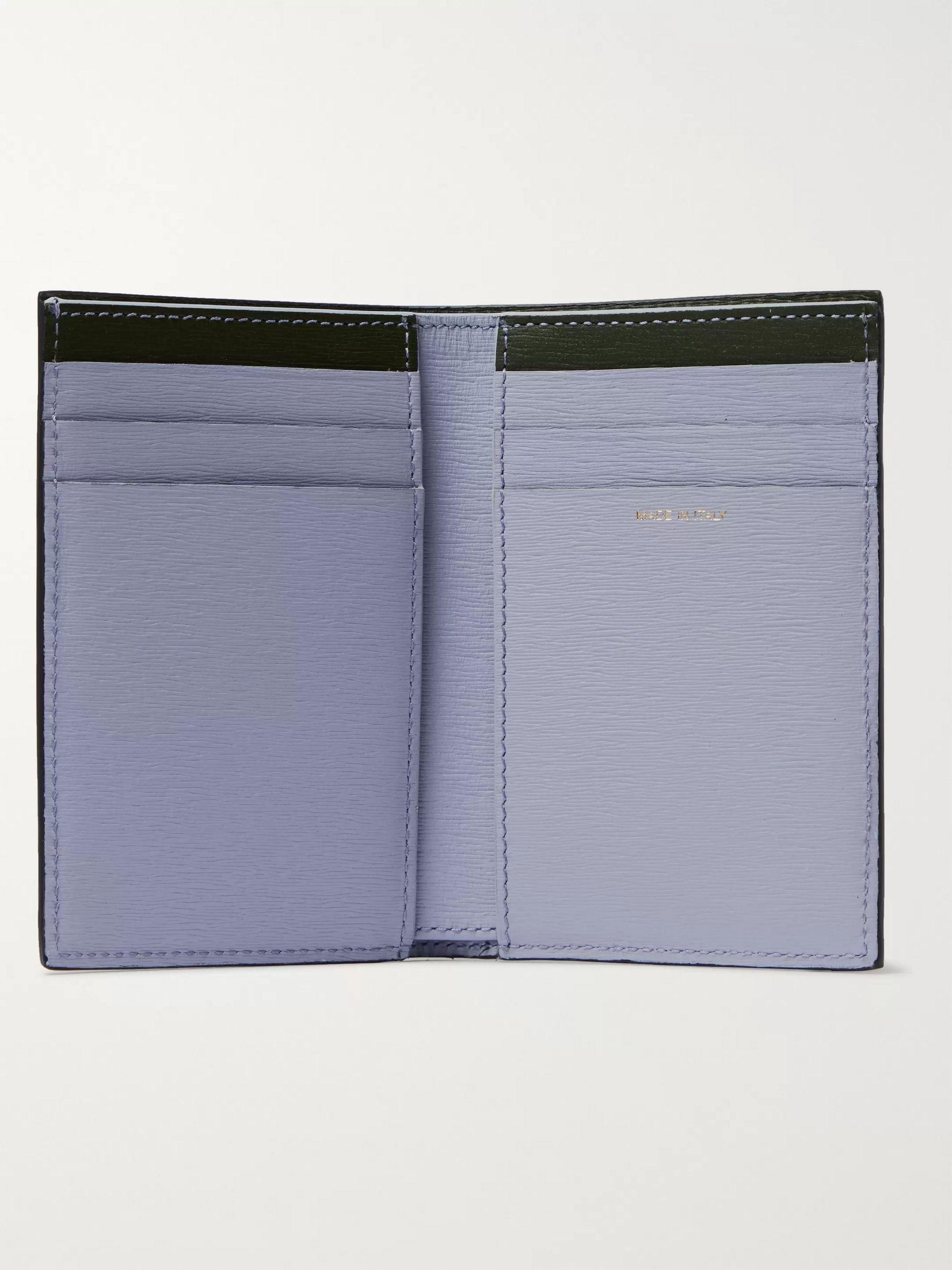 Paul Smith Colour-Block Textured-Leather Billfold Wallet
