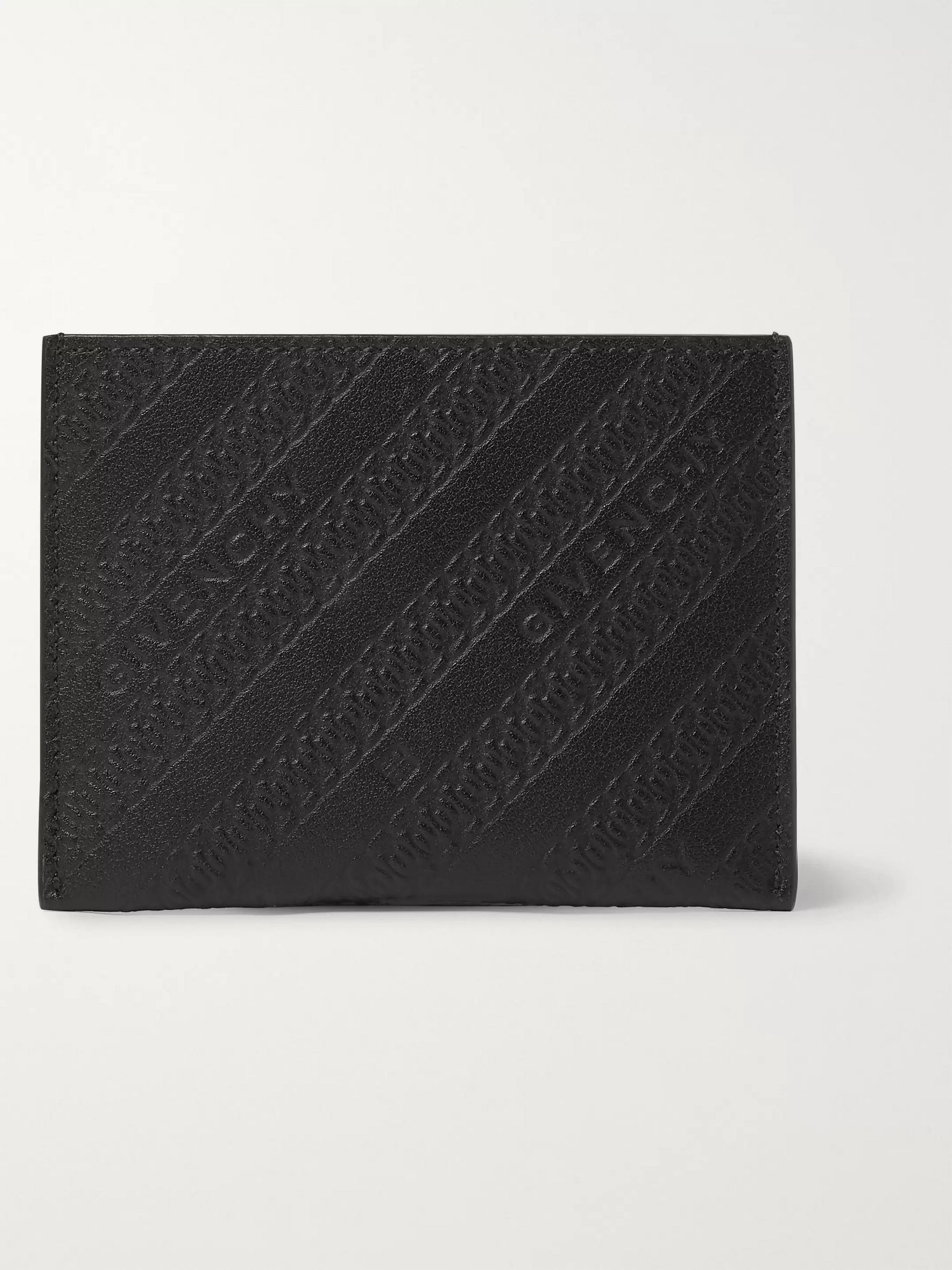 Givenchy Logo-Embossed Leather Cardholder