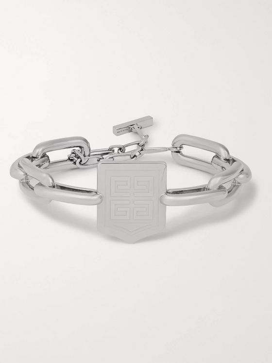 Givenchy 4G Silver-Tone Chain Bracelet