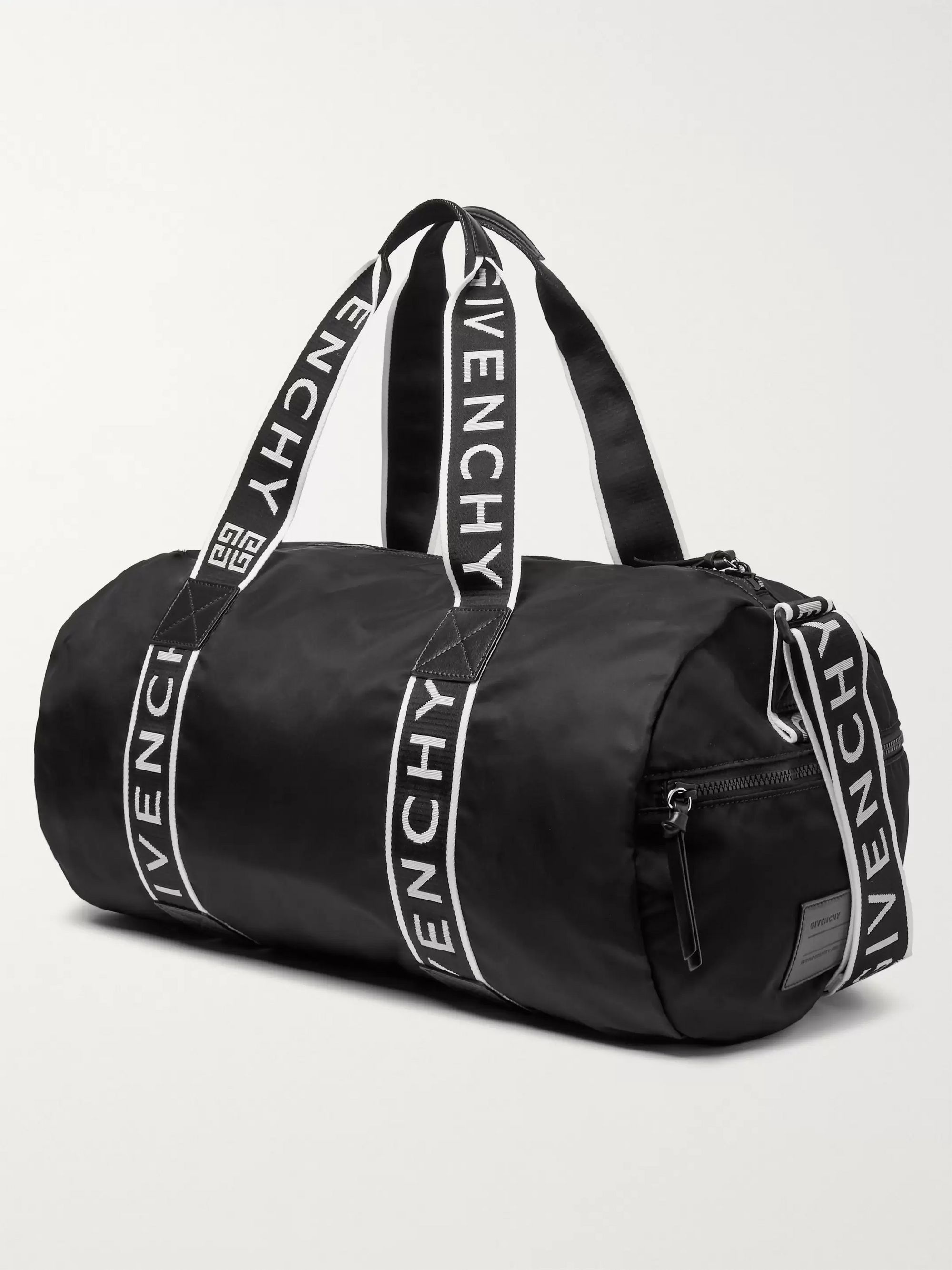 Givenchy Logo-Jacquard Webbing and Shell Holdall