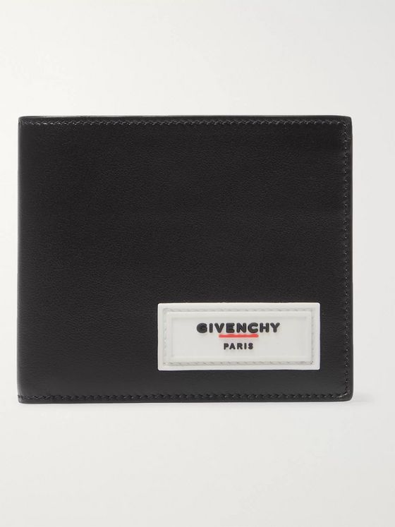 Givenchy Logo-Detailed Leather Billfold Wallet