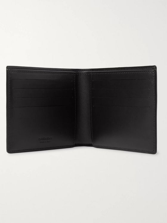 Givenchy Logo-Embossed Leather Billfold Wallet