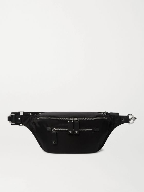 Valentino Valentino Garavani Logo-Detailed Shell Belt Bag
