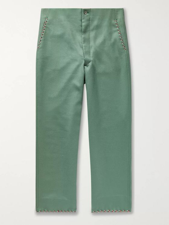 BODE Wool-Twill Trousers