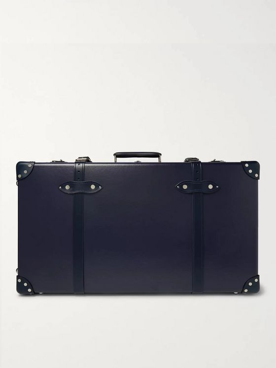 "Globe-Trotter 30"" Leather-Trimmed Trolley Case"