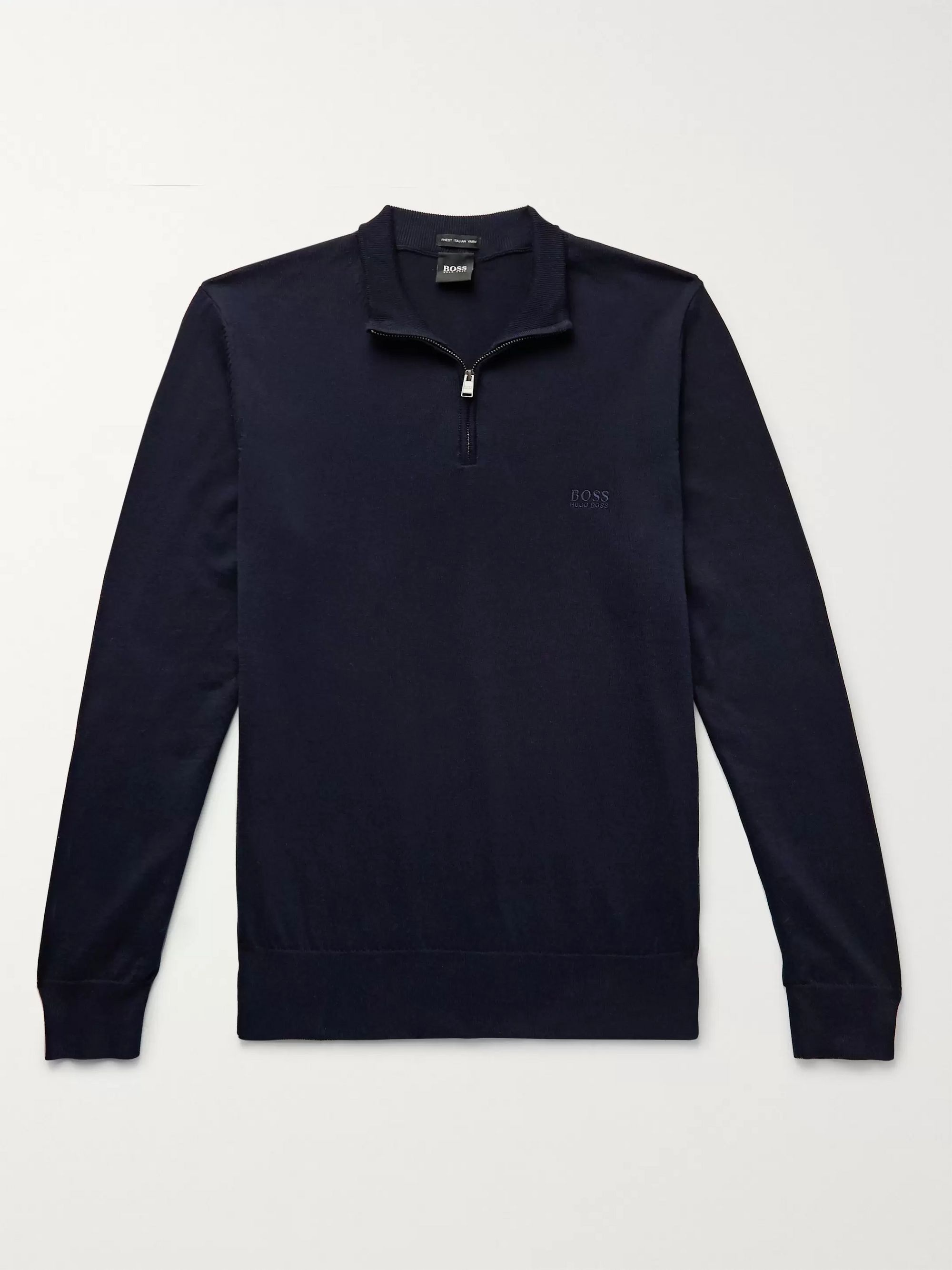 Hogo Boss Mens Long Sleeve SWEAT SHIRTS 100/% Cotton Embroidered Logo all size