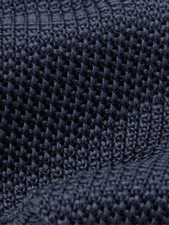 Hugo Boss 6cm Knitted Silk Tie