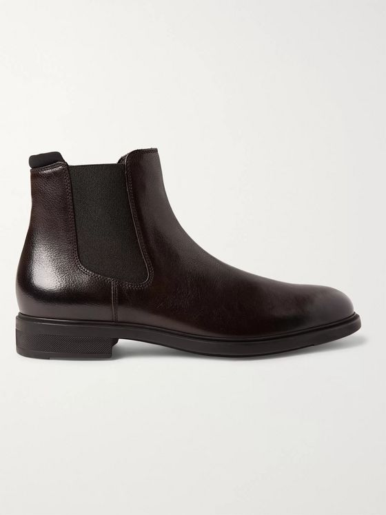 Hugo Boss First Class Leather Chelsea Boots