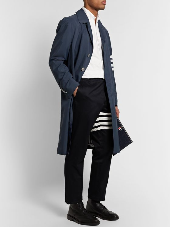 Thom Browne Striped Ripstop Coat