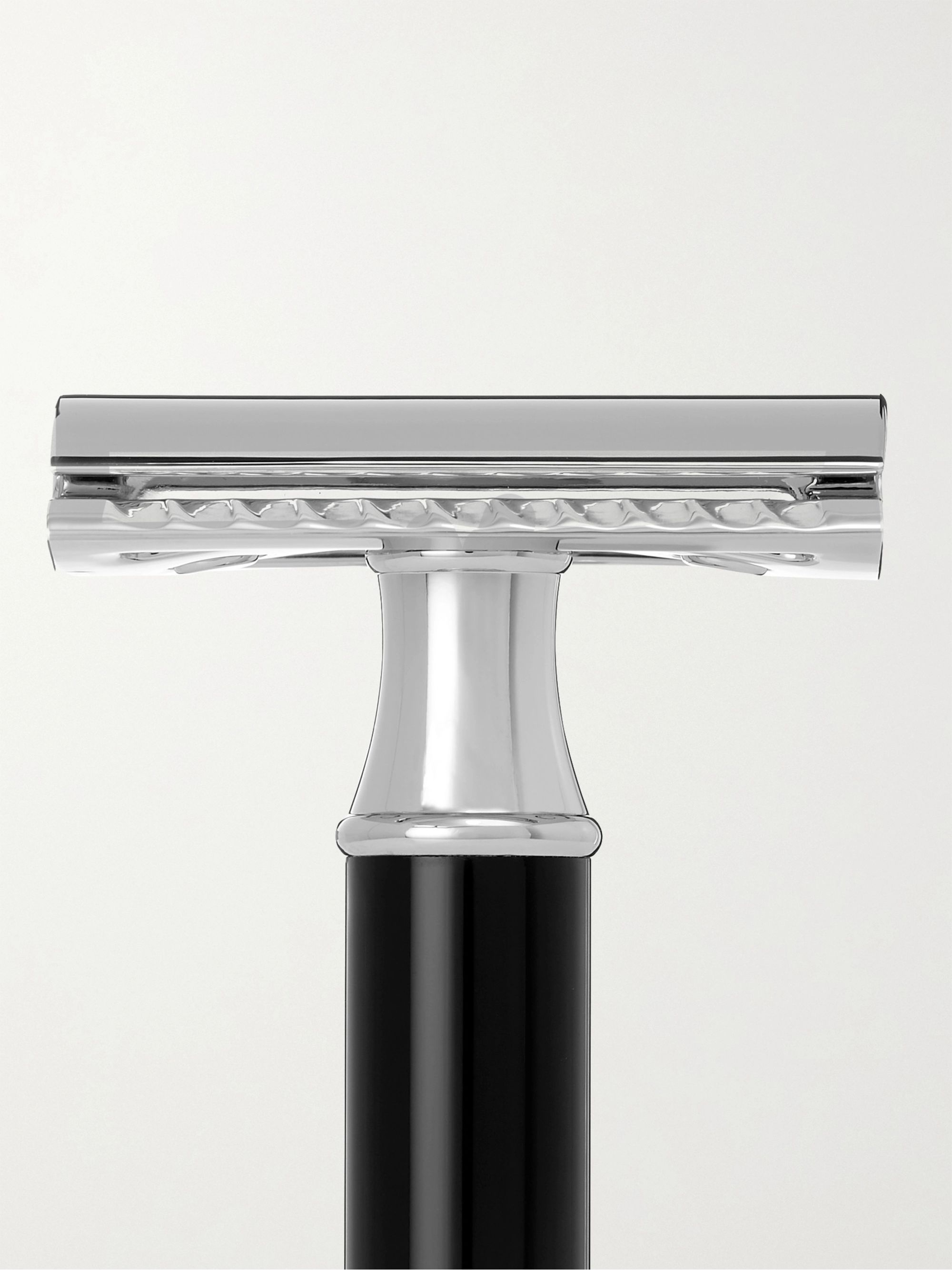 Mühle Chrome-Plated and Resin Safety Razor