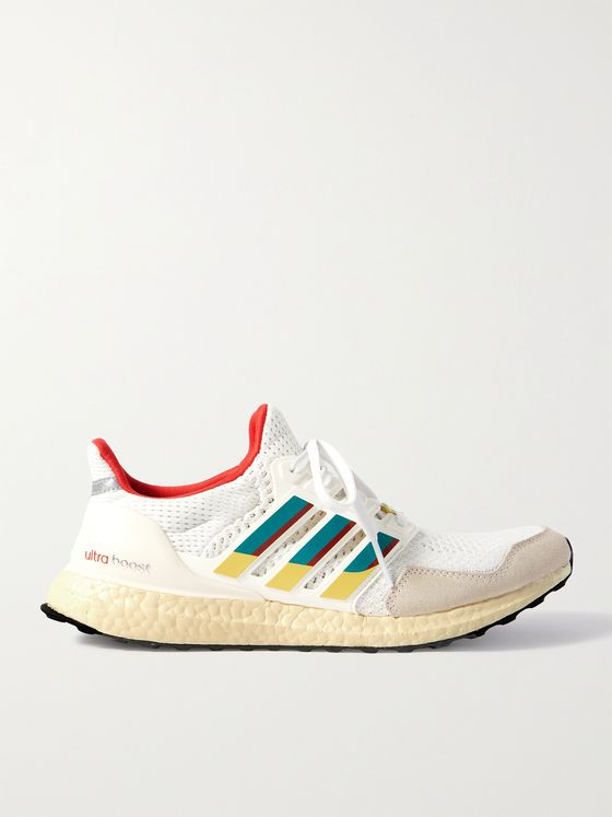 ADIDAS ORIGINALS UltraBoost DNA 1.0 Rubber-Trimmed Primeknit Sneakers