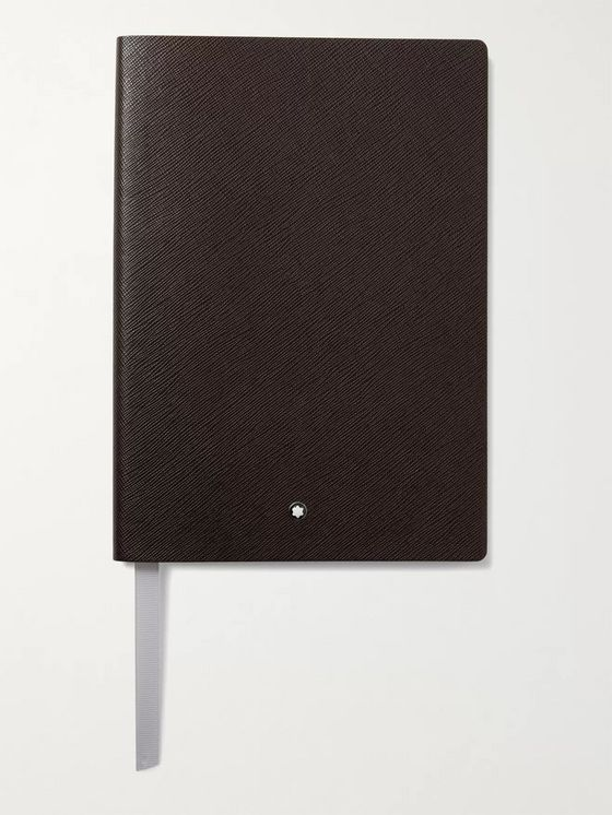 Montblanc 146 Cross-Grain Leather Notebook