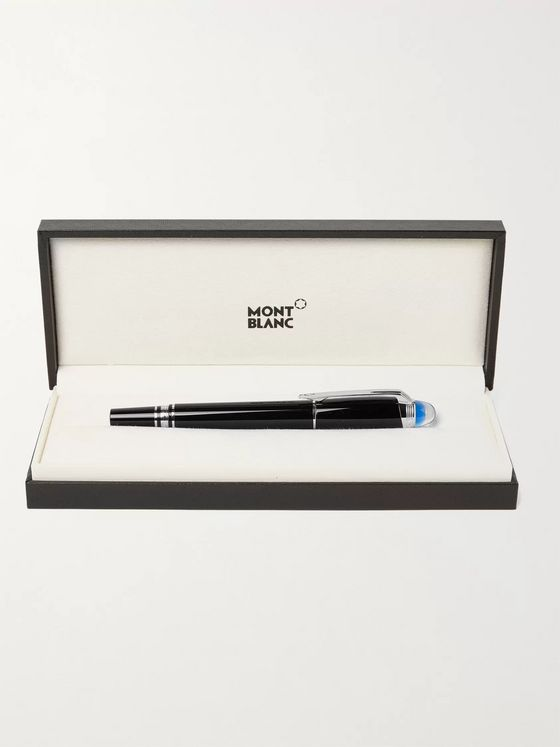 MONTBLANC StarWalker Resin and Platinum-Plated Fountain Pen