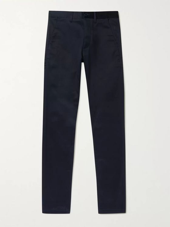 SAINT LAURENT Slim-Fit Stretch-Denim Jeans