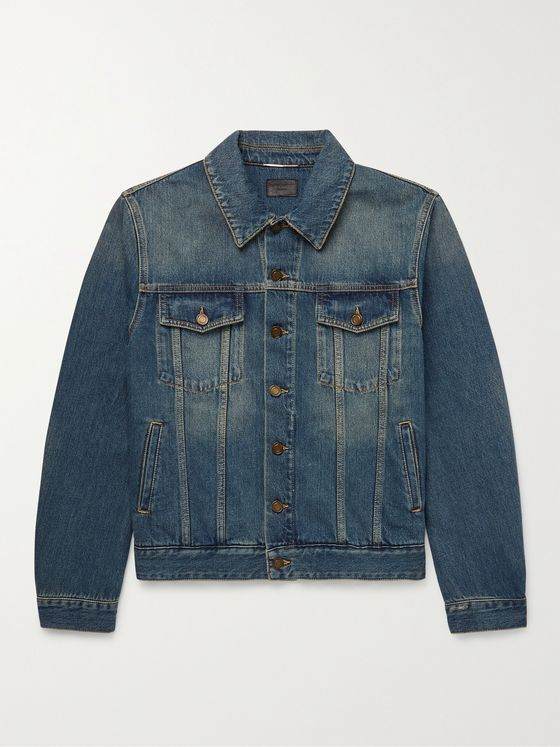 SAINT LAURENT Denim Trucker Jacket