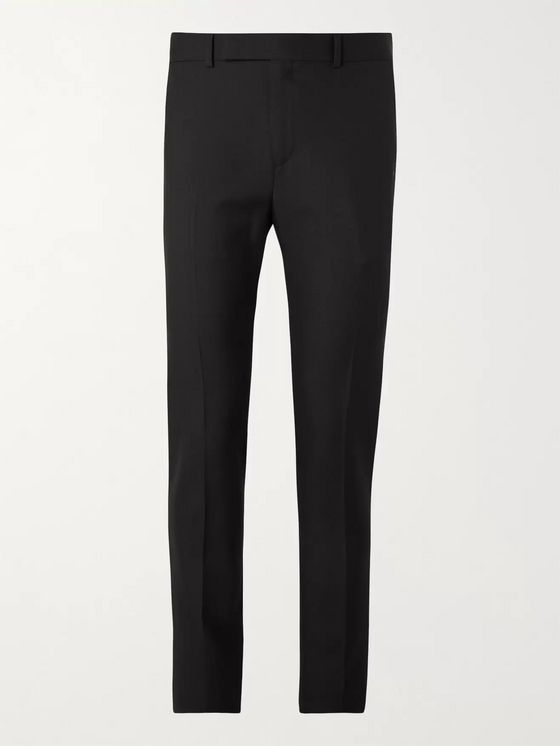 CELINE HOMME Slim-Fit Worsted Wool-Gabardine Suit Trousers