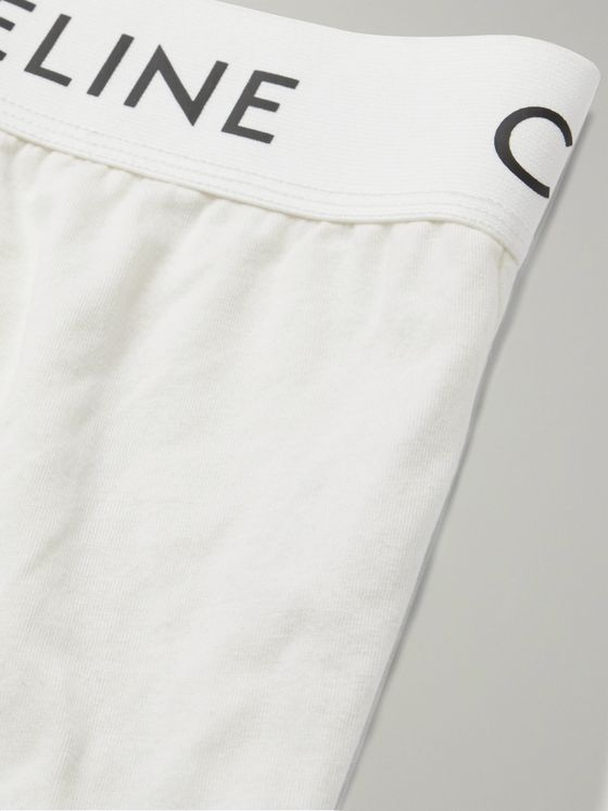 CELINE HOMME Stretch-Cotton Boxer Briefs