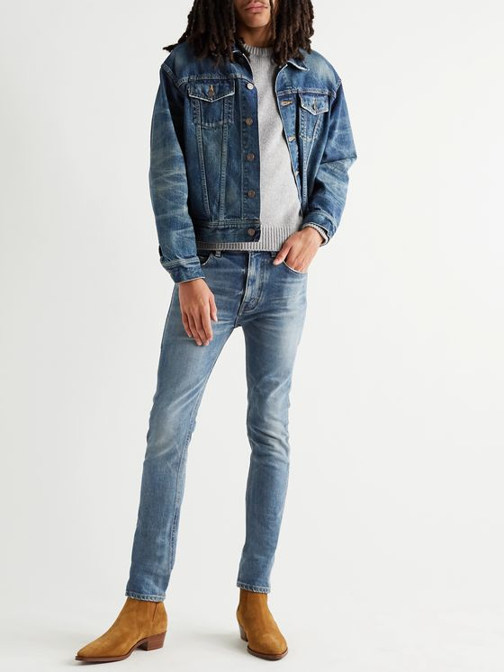 CELINE HOMME Skinny-Fit Denim Jeans