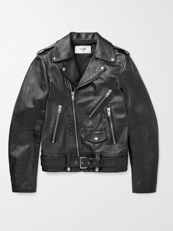 CELINE HOMME Leather Jacket
