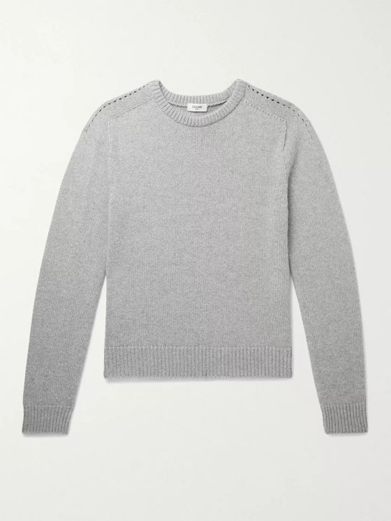 CELINE HOMME Slim-Fit Cashmere Sweater