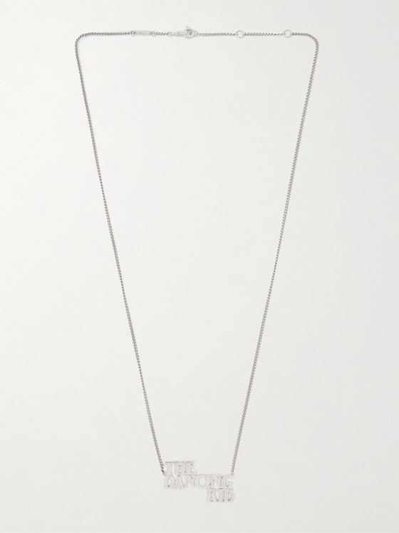 CELINE HOMME Silver Necklace