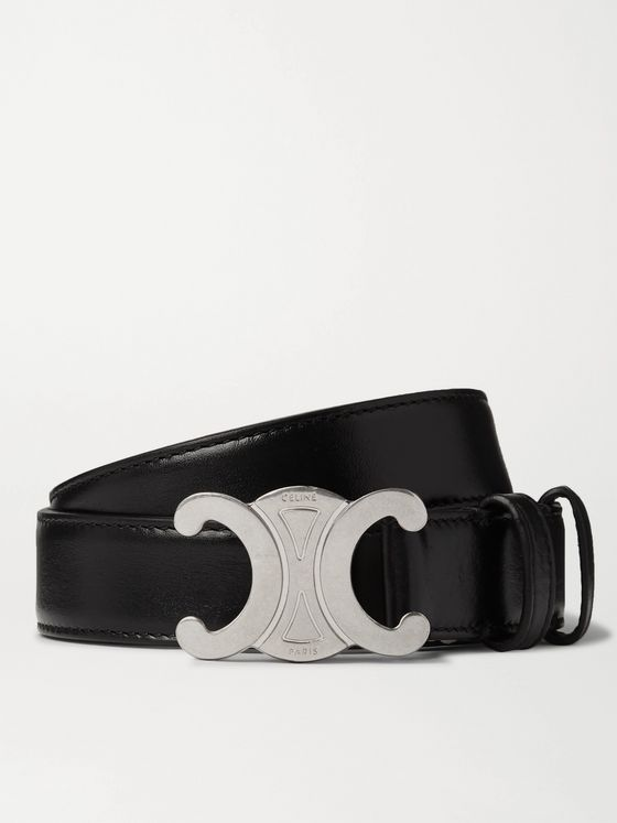 CELINE HOMME 2.5cm Leather Belt