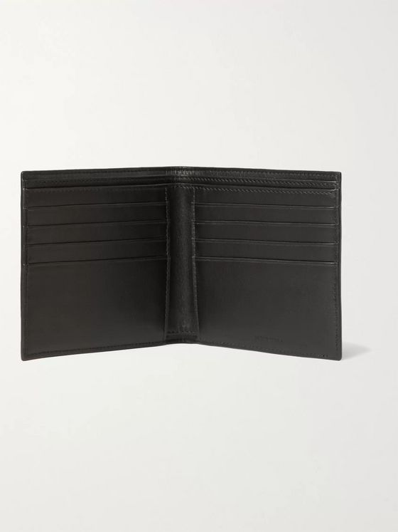 CELINE HOMME Full-Grain Leather Billfold Wallet
