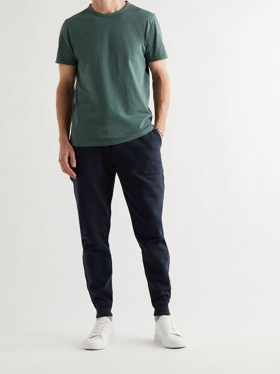 MR P. Tapered Loopback Cotton-Jersey Sweatpants
