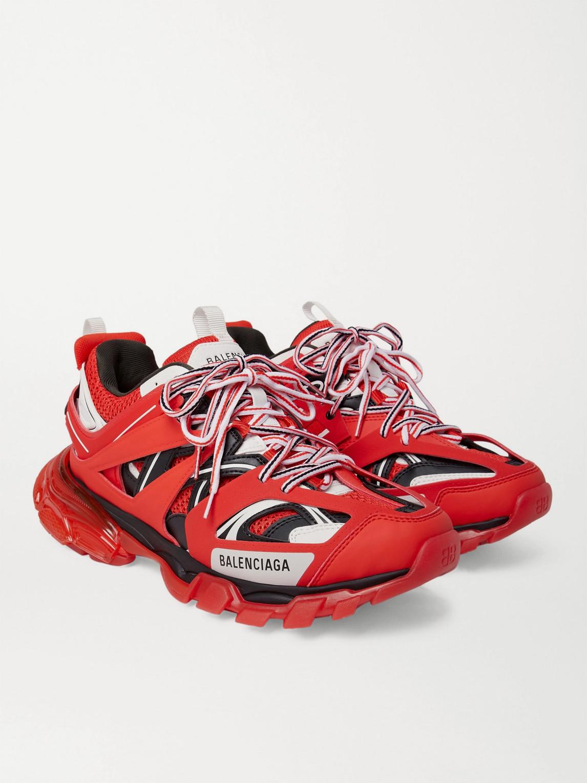 Balenciaga Sneakers TRACK NYLON, MESH AND RUBBER SNEAKERS