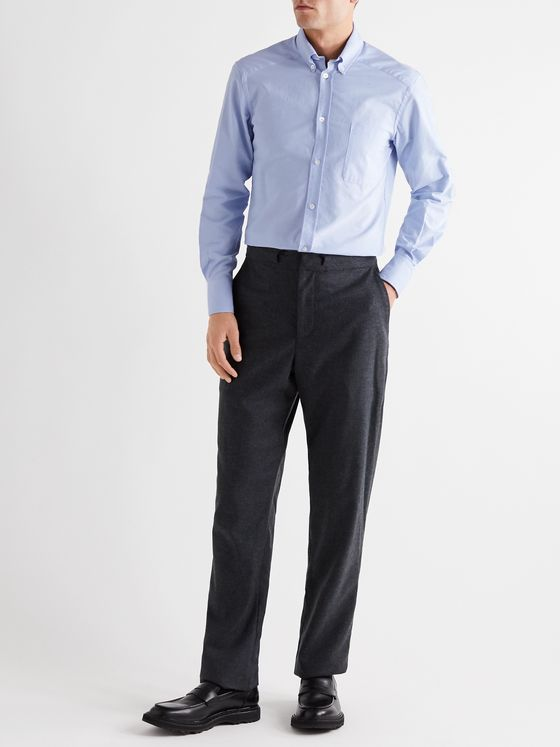 YOOX NET-A-PORTER For The Prince's Foundation Button-Down Collar Cotton Oxford Shirt