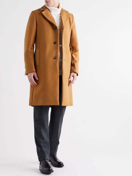 YOOX NET-A-PORTER For The Prince's Foundation Merino Wool and Cashmere-Blend Coat