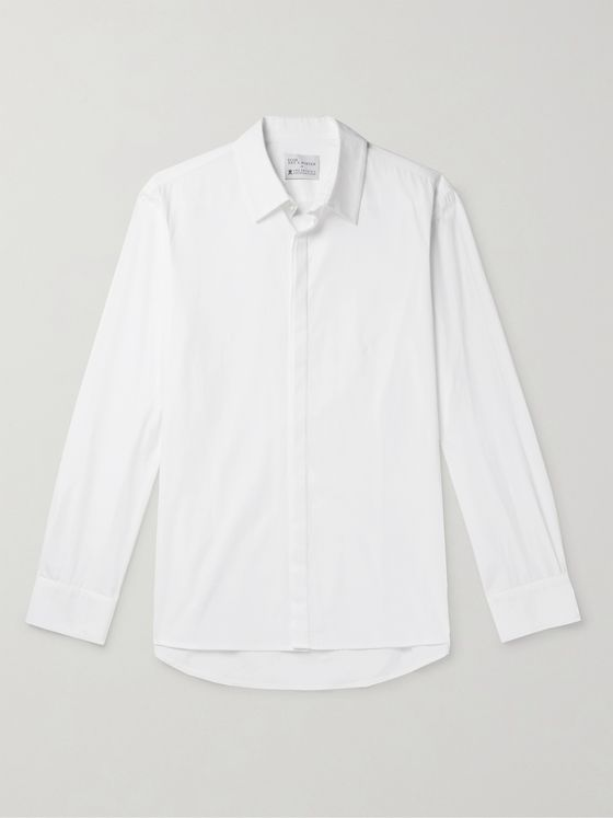 YOOX NET-A-PORTER For The Prince's Foundation Slim-Fit Organic Cotton Shirt