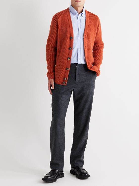 YOOX NET-A-PORTER For The Prince's Foundation Ribbed Cashmere Cardigan