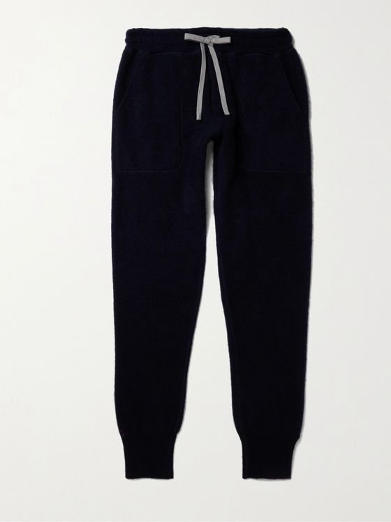 YINDIGO AM Tapered Cashmere Sweatpants