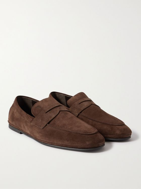 TOD'S Suede Driving Shoes