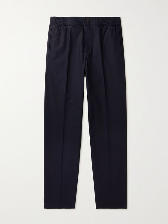 MR P. Wide-Leg Cotton Trousers