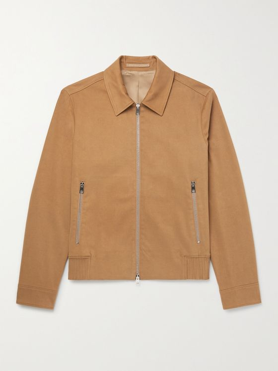 MR P. Organic Cotton-Blend Twill Blouson Jacket