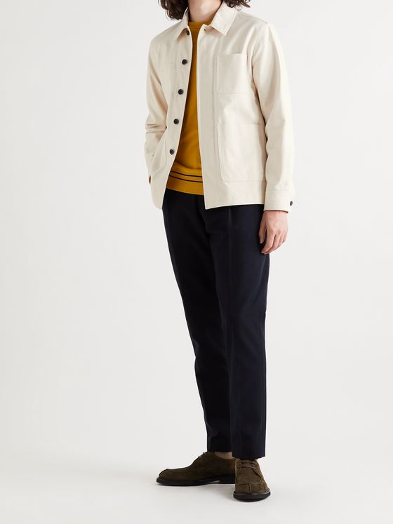 MR P. Cotton-Twill Jacket