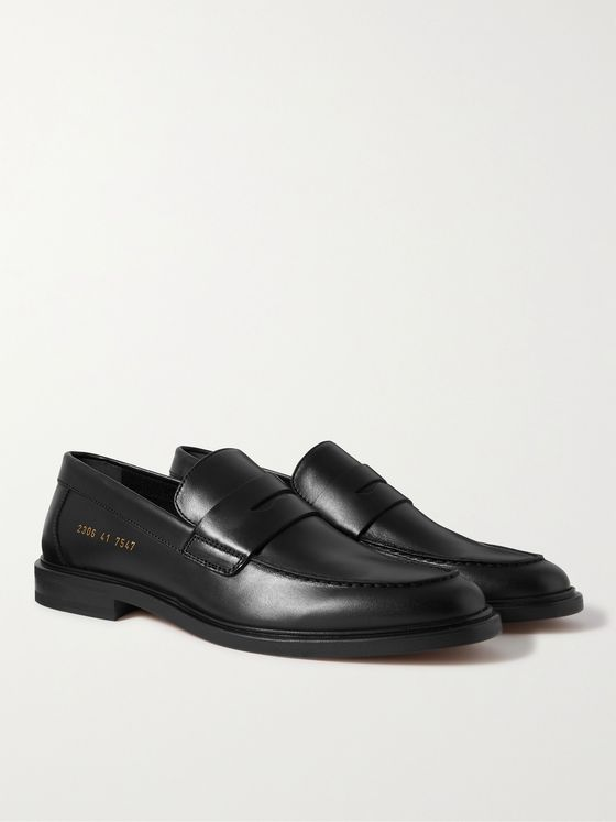 COMMON PROJECTS Leather Penny Loafers