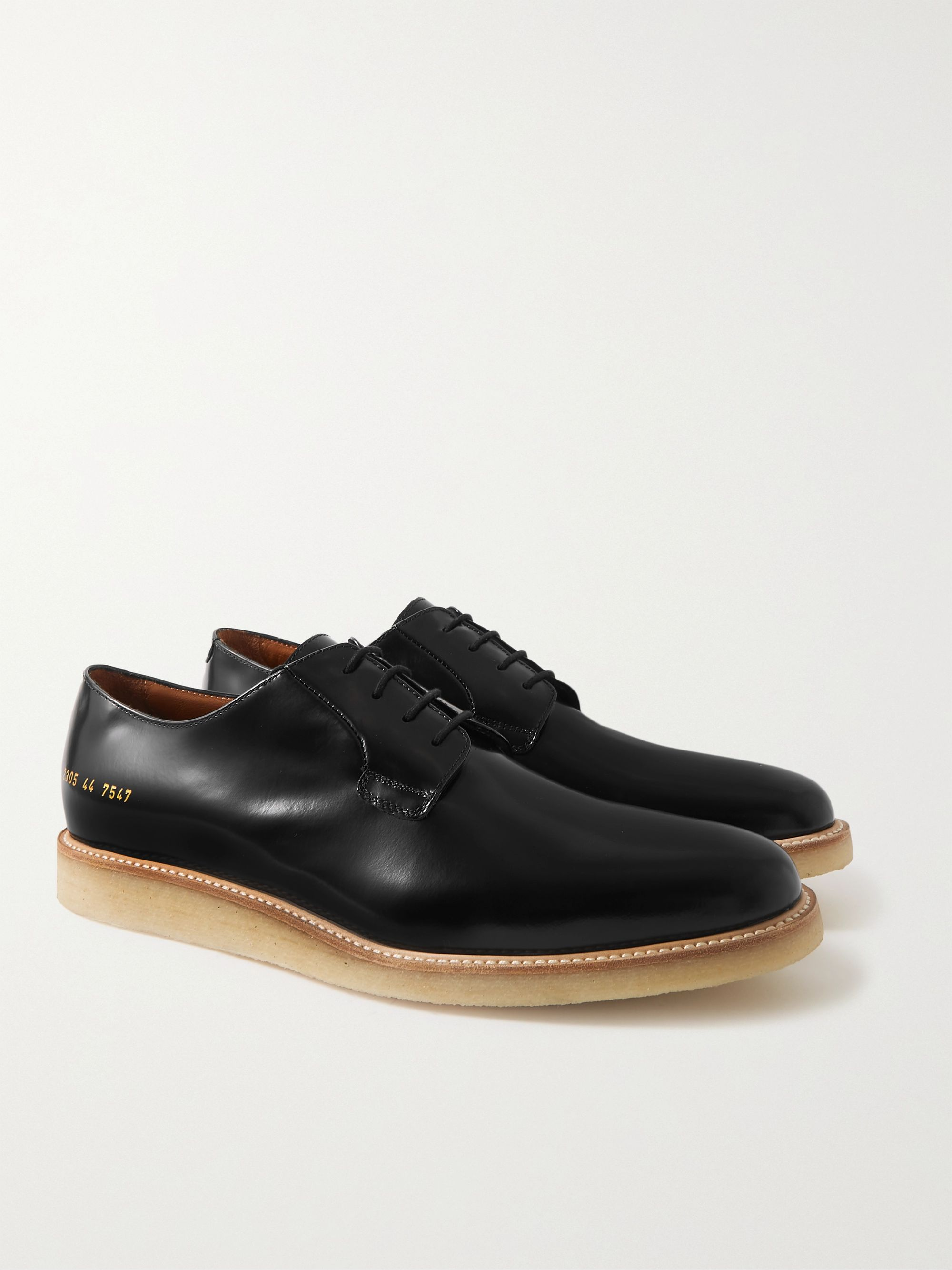 COMMON PROJECTS Polished-Leather Derby Shoes