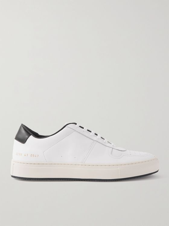 COMMON PROJECTS BBall '90 Leather Sneakers