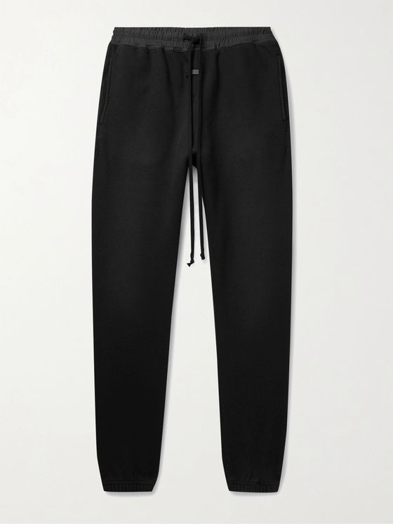 FEAR OF GOD The Vintage Tapered Fleece-Back Cotton-Jersey Sweatpants