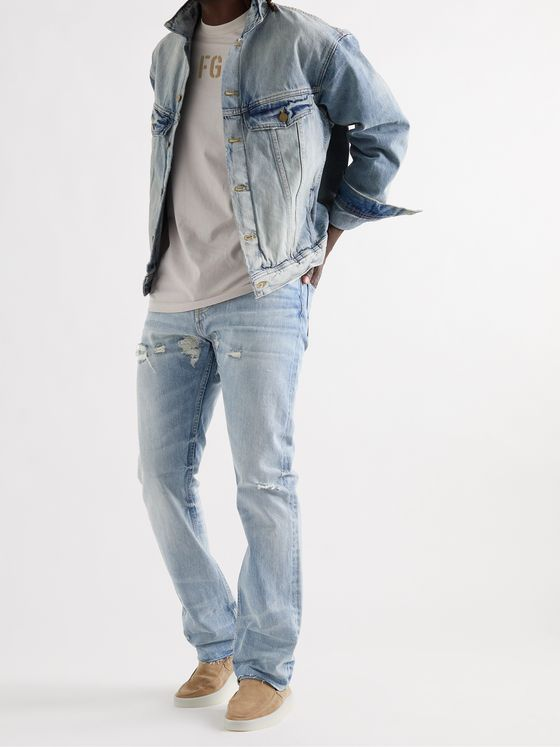 FEAR OF GOD Distressed Denim Jeans