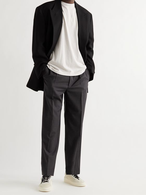 FEAR OF GOD Pleated Super 120s Wool Trousers