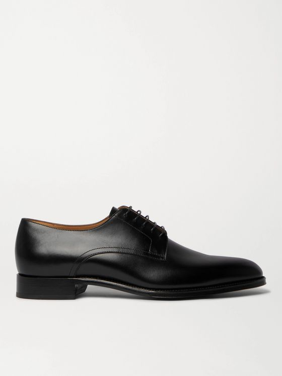 DUNHILL Kensington Leather Derby Shoes